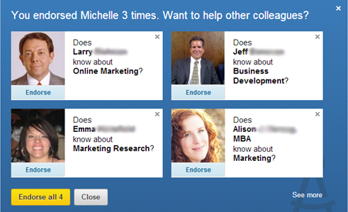 Are LinkedIn Endorsements A Sham?